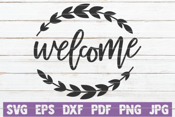 Welcome Graphic Graphic Templates By MintyMarshmallows