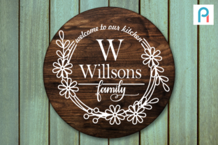 Welcome to Our Kitchen Graphic Crafts By Pinoyartkreatib