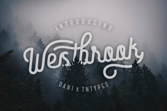 Print on Demand: Westbrook Script & Handwritten Font By Dani (7NTypes)