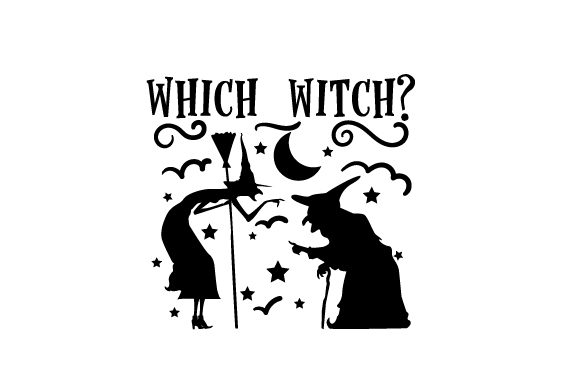 Which Witch? Halloween Craft Cut File By Creative Fabrica Crafts