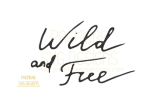 Download Free Wild And Free Svg Graphic By Premiereextensions Creative Fabrica for Cricut Explore, Silhouette and other cutting machines.