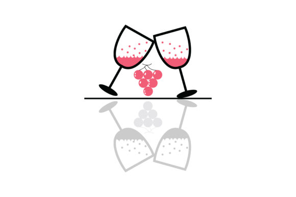 Download Free Wine Glass Drink Cheers Icon Graphic By Yuhana Purwanti for Cricut Explore, Silhouette and other cutting machines.