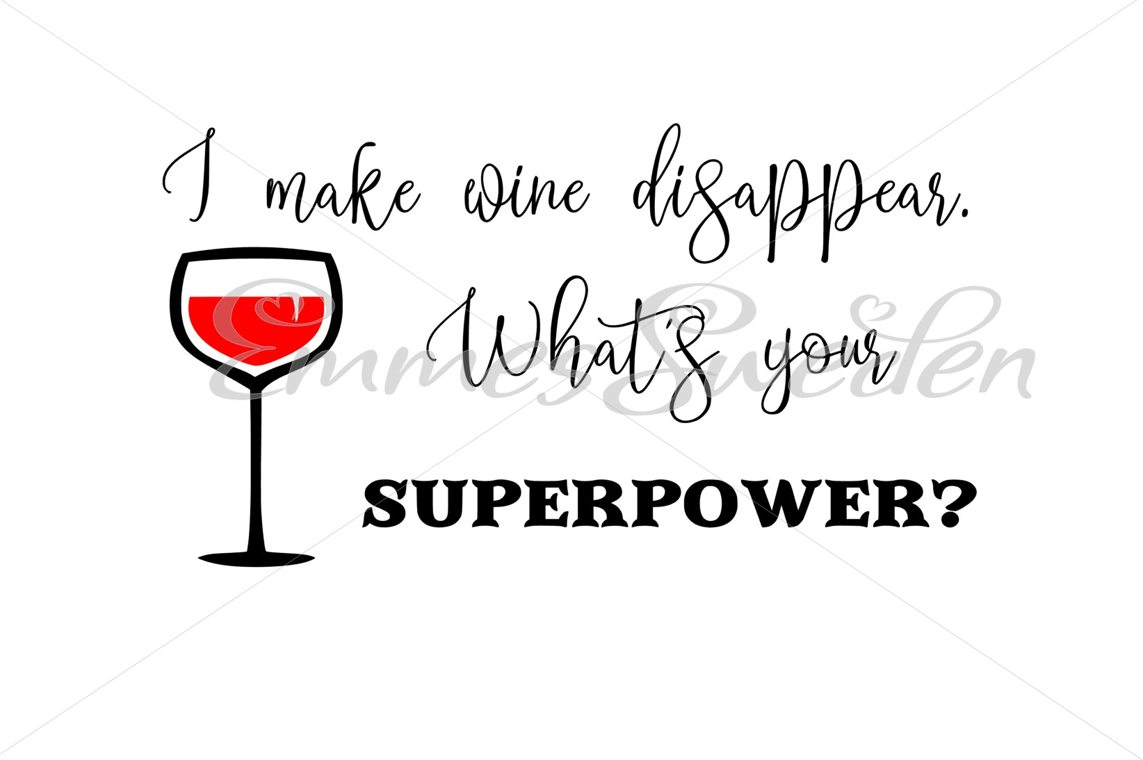 Download Free Wine Graphic By Emmessweden Creative Fabrica for Cricut Explore, Silhouette and other cutting machines.