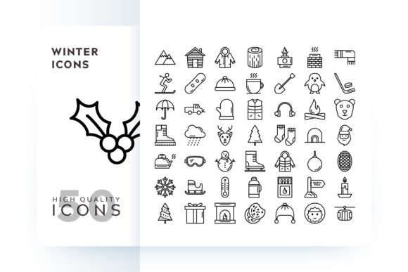 Winter Icons Graphic Icons By Goodware.Std
