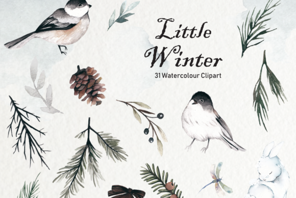 Print on Demand: Winter Watercolor Collection Graphic Illustrations By Typia Nesia - Image 3
