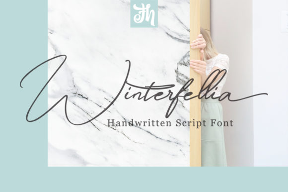 Print on Demand: Winterfellia Script & Handwritten Font By feydesign