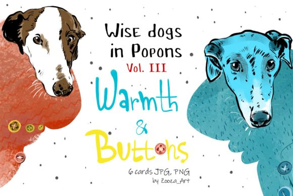 Print on Demand: Wise Dogs in Popons III Graphic Illustrations By Zooza Art
