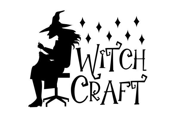 Witch Craft Halloween Craft Cut File By Creative Fabrica Crafts - Image 1