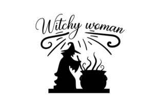 Witchy Woman Halloween Craft Cut File By Creative Fabrica Crafts