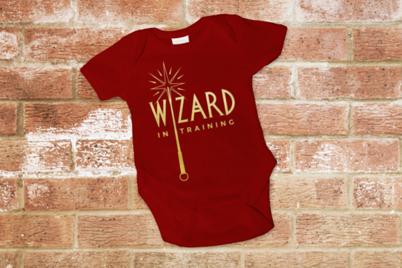 Wizard and Witch in Training Graphic Crafts By DesignedByGeeks
