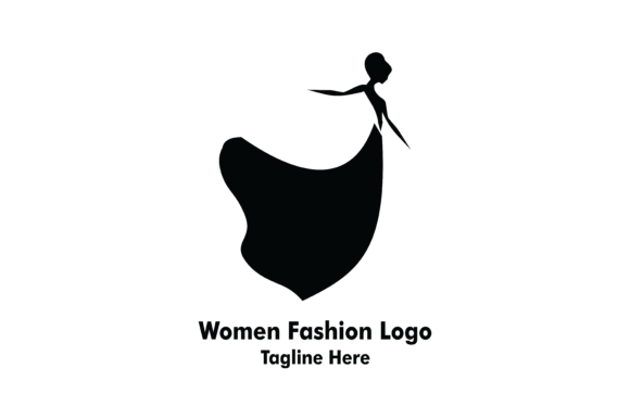 Download Free Women Beauty Fashion Logo Graphic By Yuhana Purwanti Creative SVG Cut Files