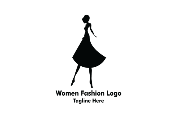 Women Beauty Fashion Logo Graphic By Yuhana Purwanti Creative Fabrica