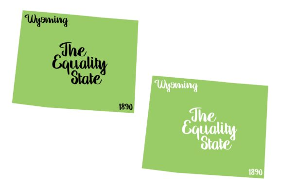 Download Free Wyoming State Nickname Svg Png Eps Grafico Por Studio 26 for Cricut Explore, Silhouette and other cutting machines.