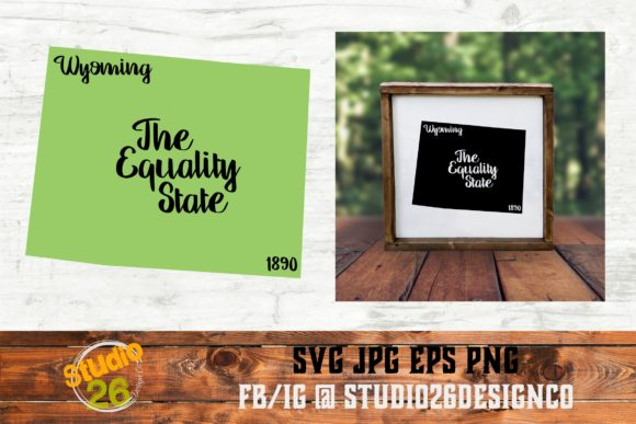 Download Free Wyoming State Nickname Svg Png Eps Graphic By Studio 26 for Cricut Explore, Silhouette and other cutting machines.