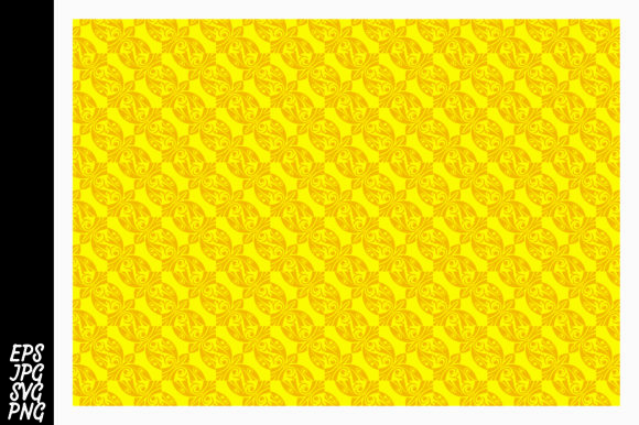Download Free Yellow Ornament Pattern Svg Graphic By Arief Sapta Adjie Ii for Cricut Explore, Silhouette and other cutting machines.