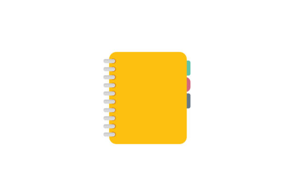Yellow Notes Icon Graphic By Home Sweet