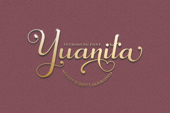 Print on Demand: Yuanita Script & Handwritten Font By putracetol
