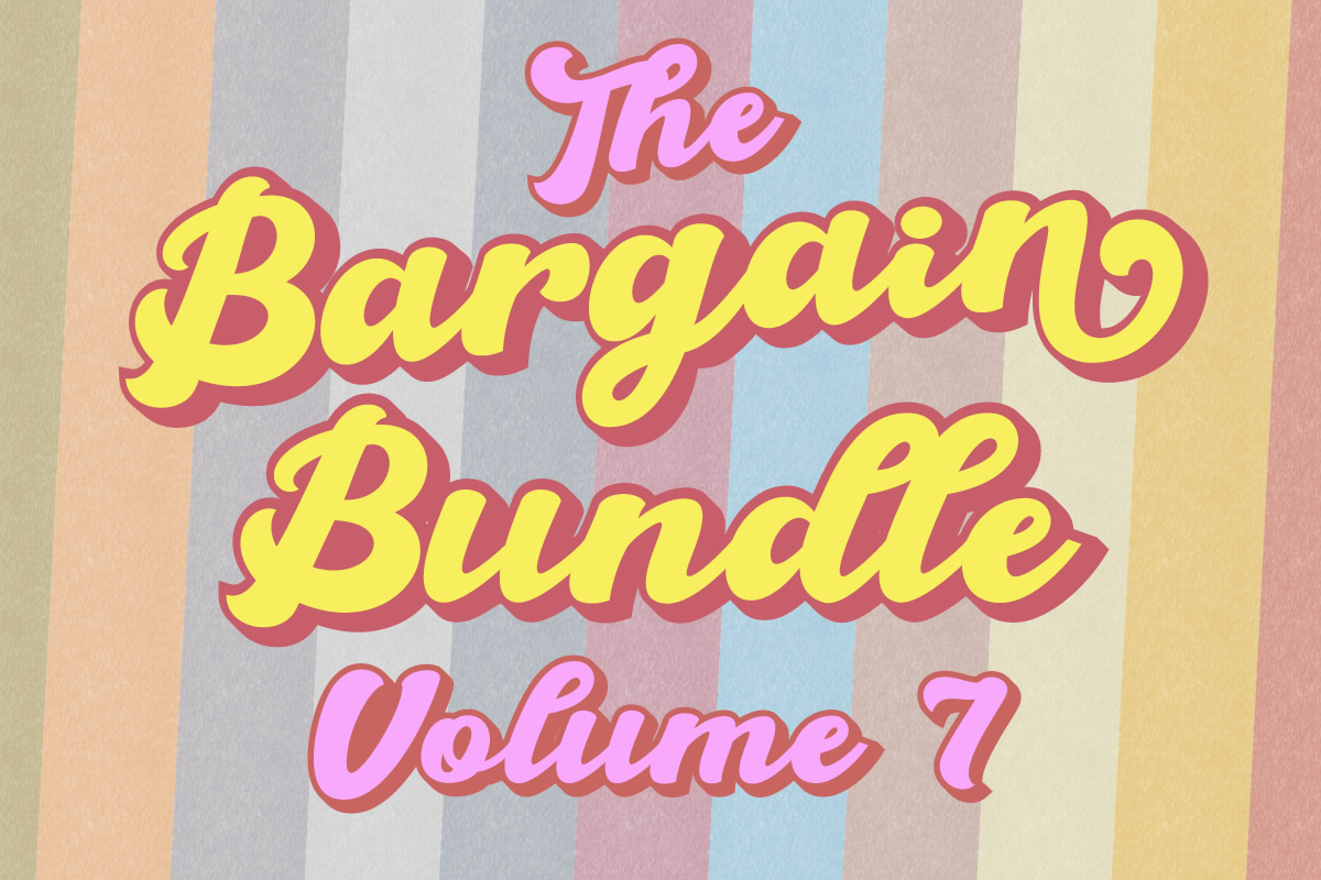 Download Free Bargain Bundle Vol 7 Creative Fabrica for Cricut Explore, Silhouette and other cutting machines.