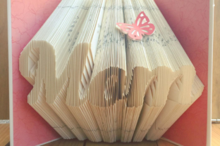 Learn the techniques of book folding