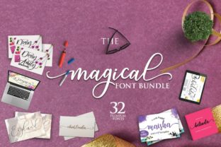 Magical Font Bundle