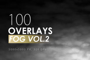 100 Fog Overlays Vol. 2 Graphic By ArtistMef