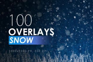 100 Snow Overlays Graphic By ArtistMef