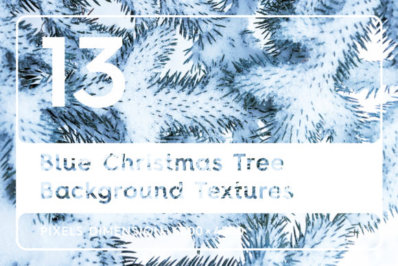 13 Blue Tree Background Textures Graphic Logos By Textures - Image 1
