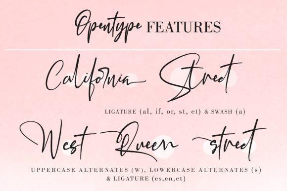 Print on Demand: California Street Script & Handwritten Font By thomasaradea - Image 11