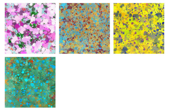 Download Free 16 Paint Splatter Backgrounds Volume 1 Graphic By Artistmef for Cricut Explore, Silhouette and other cutting machines.
