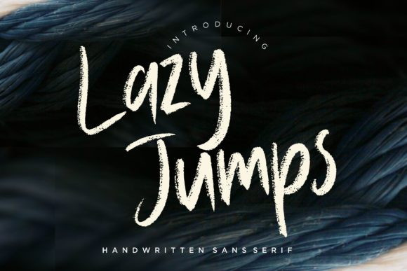 Print on Demand: Lazy Jumps Sans Serif Font By CreatypeStudio - Image 1
