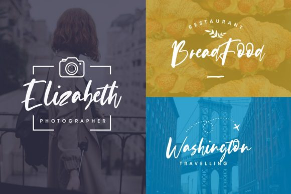 Print on Demand: Evangeline Script & Handwritten Font By CreatypeStudio - Image 3
