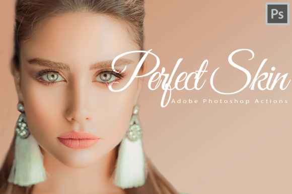 Print on Demand: 18 Perfect Skin Photoshop Actions Graphic Actions & Presets By 3Motional