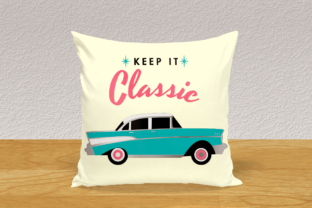 1950s Classic Car SVG Graphic By RisaRocksIt