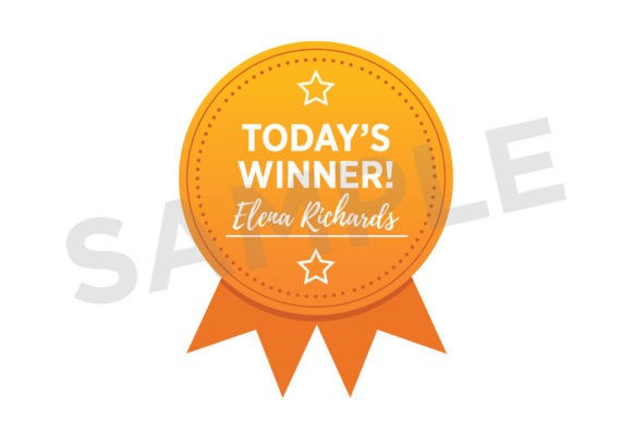 Print on Demand: Award Badge Button Clip Art Set Graphic Objects By Running With Foxes - Image 4