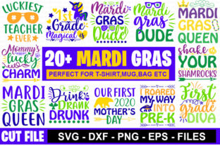 20 Mardi Gras Svg Bundle Graphic By Graphicsqueen Creative Fabrica