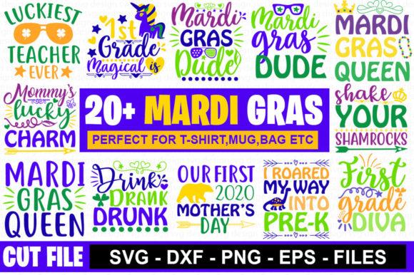 Download Free 20 Mardi Gras Svg Bundle Graphic By Graphicsqueen Creative Fabrica for Cricut Explore, Silhouette and other cutting machines.