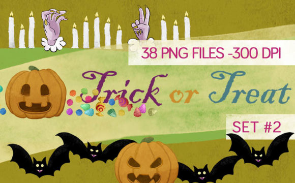 Print on Demand: 21 Halloween Borders and Frame Set Graphic Illustrations By Milaski - Image 1