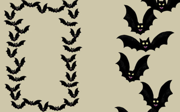 Print on Demand: 21 Halloween Borders and Frame Set Graphic Illustrations By Milaski - Image 10