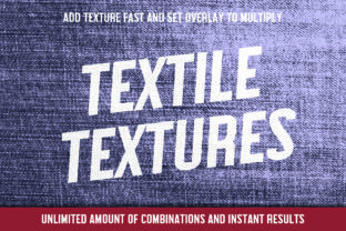 25 Easy to Use Textile Textures Graphic By denestudios