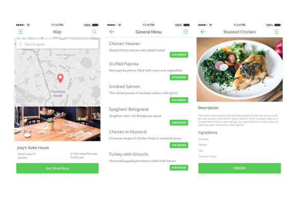 2Bite UI Kit Graphic UX and UI Kits By Web Donut - Image 11