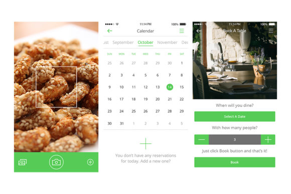 2Bite UI Kit Graphic UX and UI Kits By Web Donut - Image 13
