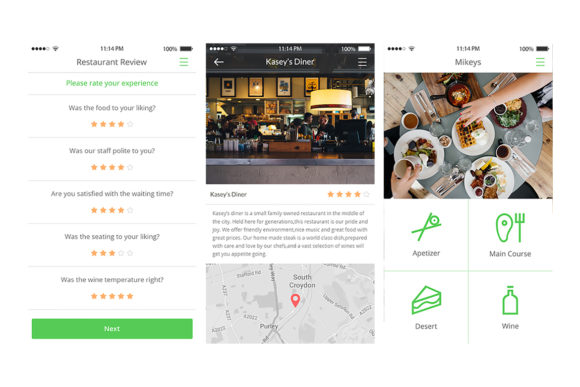 2Bite UI Kit Graphic UX and UI Kits By Web Donut - Image 7
