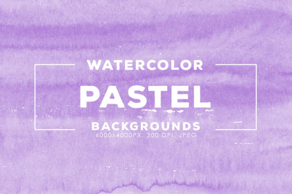 Print on Demand: 30 Pastel Watercolor Backgrounds Graphic Backgrounds By ArtistMef