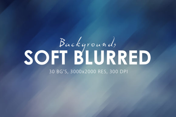 Print on Demand: 30 Soft Blurred Backgrounds Graphic Backgrounds By ArtistMef