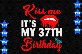 Download Free 37th Birthday Graphic By Awesomedesign Creative Fabrica for Cricut Explore, Silhouette and other cutting machines.