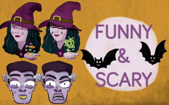 Print on Demand: 38 Halloween Clipart Cartoon Style Graphic Illustrations By Milaski - Image 4