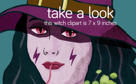 Print on Demand: 38 Halloween Clipart Cartoon Style Graphic Illustrations By Milaski - Image 7