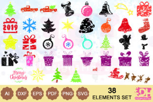 38 Vector Graphics Christmas SVG Designs Graphic By DesignsHavenLLC