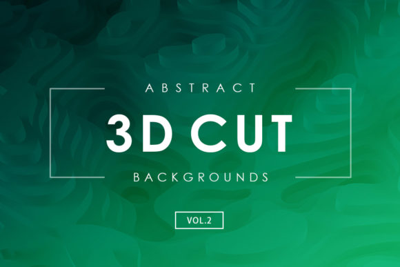 Print on Demand: 3D Cut Backgrounds 2 Graphic Backgrounds By ArtistMef