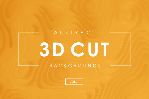 Print on Demand: 3D Cut Backgrounds Graphic Backgrounds By ArtistMef